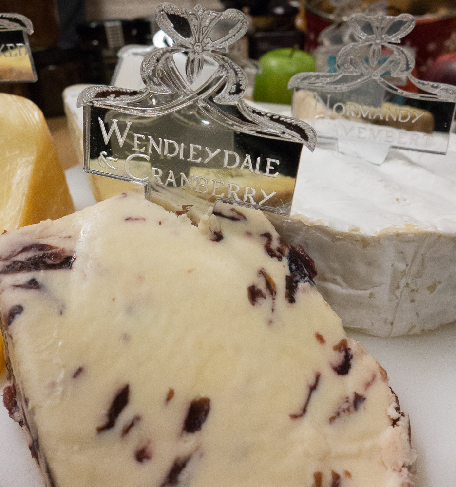 Wensleydale & Cranberry and Normandy Camembert